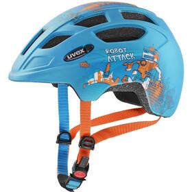UVEX Finale CC Helm Kinder petrol robot mat